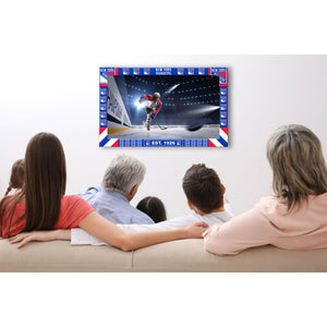 NEW YORK RANGERS BIG GAME TV FRAME