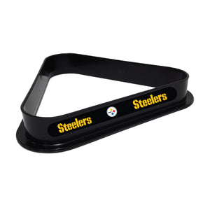 PITTSBURGH STEELERS PLASTIC 8 BALL RACK