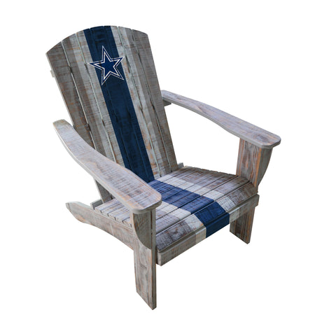 DALLAS COWBOYS WOODEN ADIRONDACK CHAIR