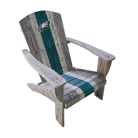 PHILADELPHIA EAGLES WOODEN ADIRONDACK CHAIR