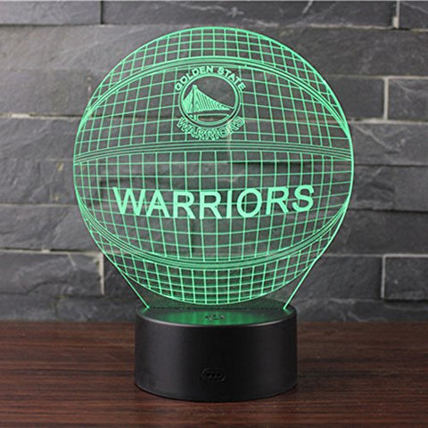 Golden State Warriors Touch Lamp