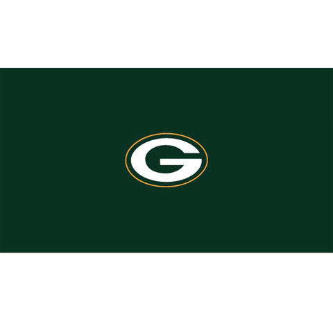 GREEN BAY PACKERS 8 ft. BILLIARD CLOTH