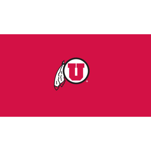 UNIVERSITY OF UTAH 8 ft. POOL CLOTH