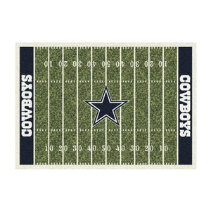 DALLAS COWBOYS 4X6 HOMEFIELD RUG