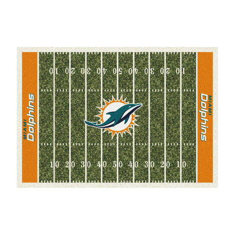 MIAMI DOLPHINS 4X6 HOMEFIELD RUG