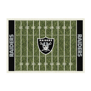 OAKLAND RAIDERS 4X6 HOMEFIELD RUG