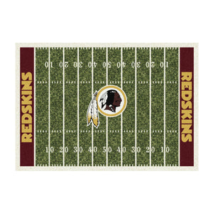 WASHINGTON REDSKINS 8X11 HOMEFIELD RUG