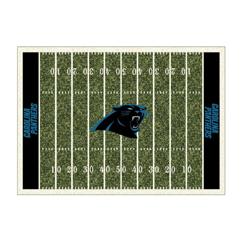 CAROLINA PANTHERS 4X6 HOMEFIELD RUG