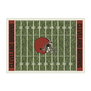 CLEVELAND BROWNS 4X6 HOMEFIELD RUG