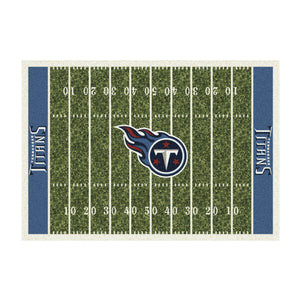 TENNESSEE TITANS 6X8 HOMEFIELD RUG