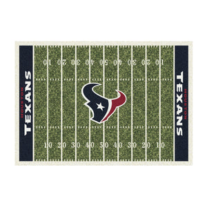 HOUSTON TEXANS 4X6 HOMEFIELD RUG