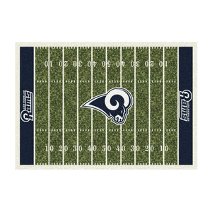 LOS ANGELES RAMS 6X8 HOMEFIELD RUG