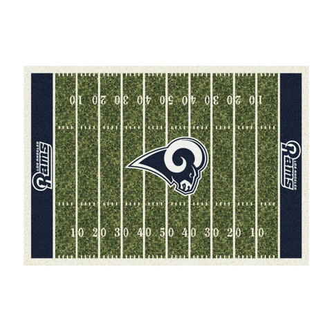 LOS ANGELES RAMS 8X11 HOMEFIELD RUG