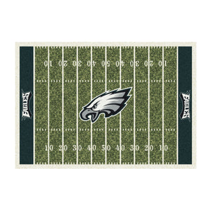 PHILADELPHIA EAGLES 8X11 HOMEFIELD RUG