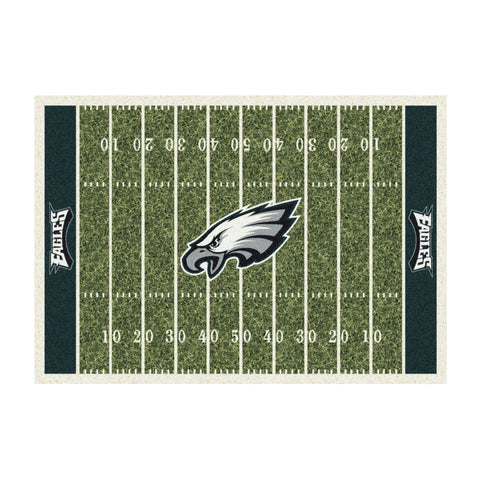 PHILADELPHIA EAGLES 4X6 HOMEFIELD RUG