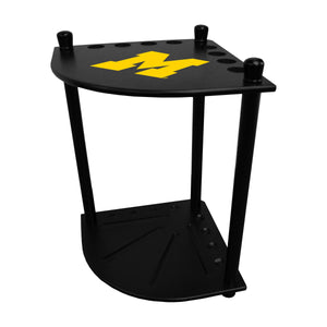 UNIVERSITY OF MICHIGAN CORNER CUE RACK