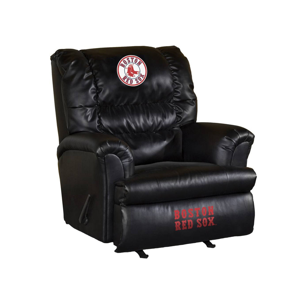 Marvelous Boston Red Sox Leather Big Daddy Recliner Dailytribune Chair Design For Home Dailytribuneorg