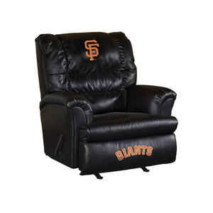 SAN FRANCISCO GIANTS LEATHER BIG DADDY RECLINER