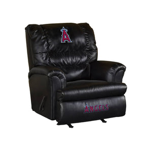 LOS ANGELES ANGELS LEATHER BIG DADDY RECLINER