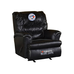 TORONTO BLUE JAYS LEATHER BIG DADDY RECLINER