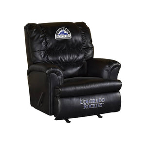 COLORADO ROCKIES LEATHER BIG DADDY RECLINER