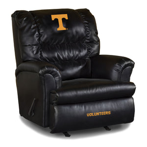 UNIVERSITY OF TENNESSE LEATHER BIG DADDY RECLINER