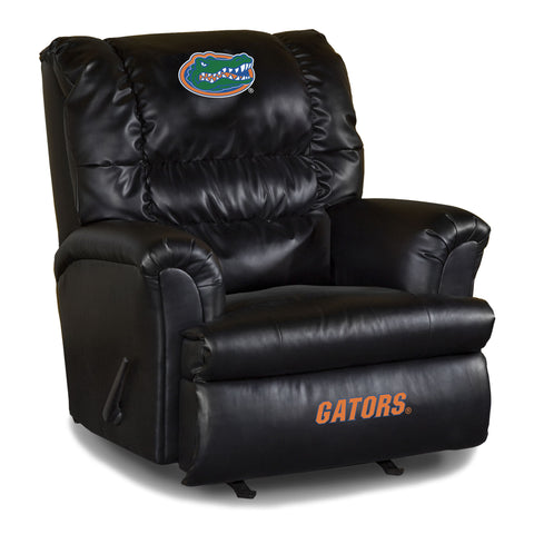 UNIVERSITY OF FLORIDA LEATHER BIG DADDY RECLINER