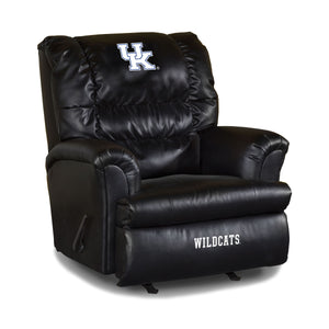 UNIVERSITY OF KENTUCKY LEATHER BIG DADDY RECLINER