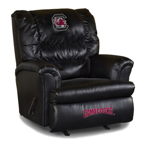UNIVERSITY OF S CAROLINA LEATHER BIG DADDY RECLINER