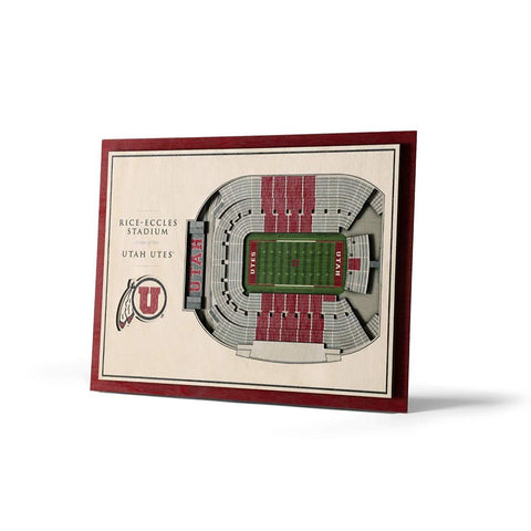 Image of NCAA 5-Layer 17 x 13 StadiumViews 3D Wall Art