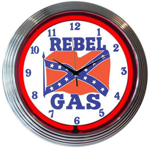 Cormac Rebel Gas Neon Clock