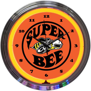 Rinus Super Bee Neon Clock