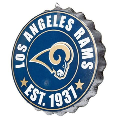 NFL Team Bottlecap Wall Sign