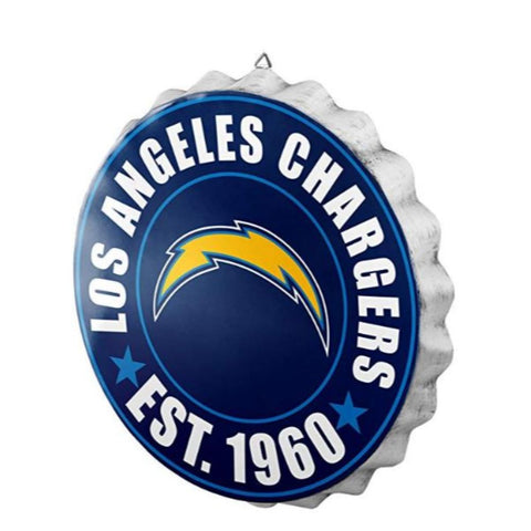 Image of NFL Team Bottlecap Wall Sign