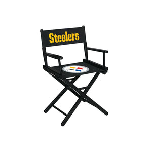 PITTSBURGH STEELERS TABLE HEIGHT DIRECTORS CHAIR
