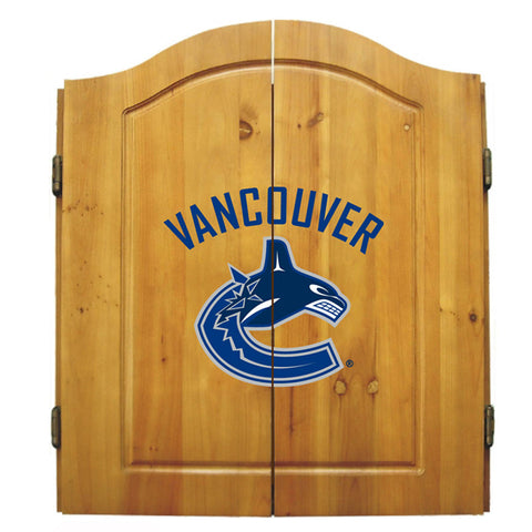 VANCOUVER CANUCKS DART CABINET