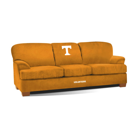 UNIVERSITY OF TENNESSE FIRST TEAM MICROFIBER SOFA