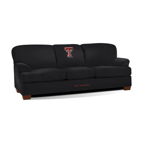TEXAS TECH FIRST TEAM MICROFIBER SOFA