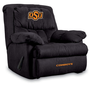 OKLAHOMA STATE UNIVERSITY HOME TEAM MICROFIBER RECLINER