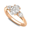 Oval Trilogy Diamond Ring