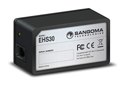 Sangoma EHS30 (Electronic Hook Switch) PHON-ACCS-EHS30-SNG