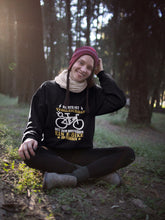 Laden Sie das Bild in den Galerie-Viewer, E-Bike Vergnügen - Damen Sweatshirt - Strombiker