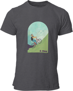 E-Bike Dude - Herren Shirt - Strombiker