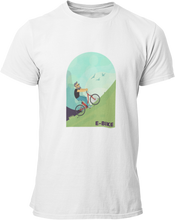 Laden Sie das Bild in den Galerie-Viewer, E-Bike Dude - Herren Shirt - Strombiker