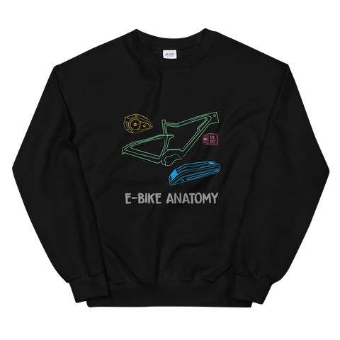 E-Bike Anatomy - Damen Sweatshirt - Strombiker