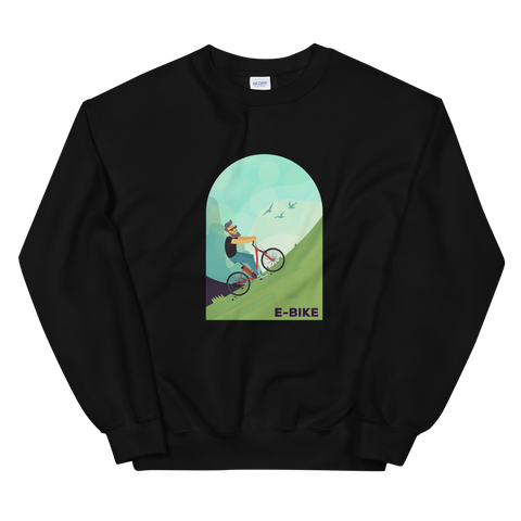 E-Bike Dude - Damen Sweatshirt - Strombiker