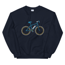 Laden Sie das Bild in den Galerie-Viewer, E-Bike Typografie - Damen Sweatshirt - Strombiker