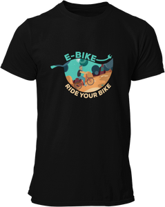 Ride Your Bike Blatt - Damen Shirt - Strombiker