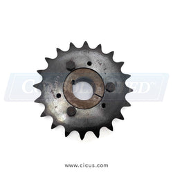 "Chicago Dryer Sprocket #60 20T - 1-1/4"" Taper Lock Hub [1201-622]"