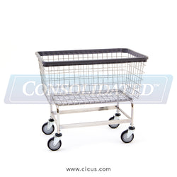 R & B Wire Mega Capacity 'Big Dog' Laundry Cart (201H)